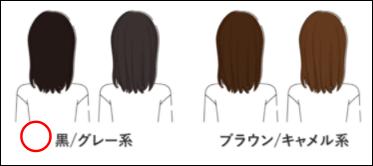 三船彩夏のエアクロパーソナルスタイル診断髪